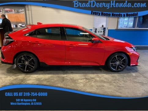 2020_Honda_Civic_Sport Touring_ West Burlington IA