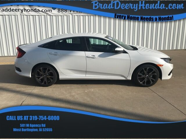 2020 Honda Civic Sport West Burlington IA