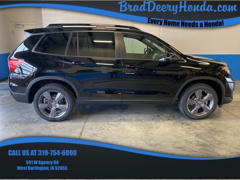 2020_Honda_Passport_Touring_ West Burlington IA