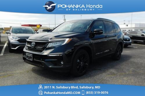 2020_Honda_Pilot_Black Edition_ Salisbury MD