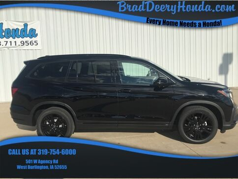 2020_Honda_Pilot_Black Edition_ West Burlington IA