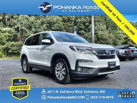 2020_Honda_Pilot_EX ** Pohanka Certified 10 Year / 100,000 **_ Salisbury MD
