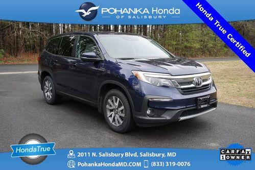 2020_Honda_Pilot_EX-L AWD/NAVI ** Honda True Certified 7 Year / 100,000_ Salisbury MD
