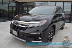 2020_Honda_Pilot_Touring / Auto Start / Heated Leather Seats / Sunroof / Adaptive Cruise / Lane Departure & Blind Spot / Rear Entertainment / 3rd Row / Seats 8 / Tow Pkg / 27 MPG / 1-Owner_ Anchorage AK