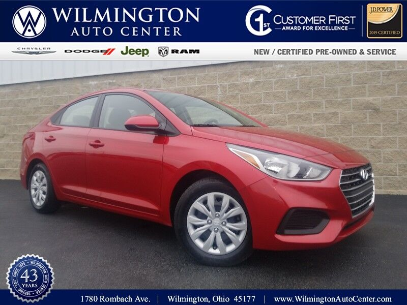 2020 Hyundai Accent SE Wilmington OH