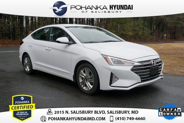2020 Hyundai Elantra SEL **ONE OWNER**CERTIFIED** Salisbury MD