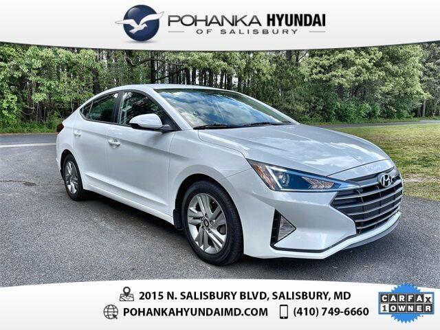 2020 Hyundai Elantra SEL **ONE OWNER**CERTIFIED** Salisbury MD