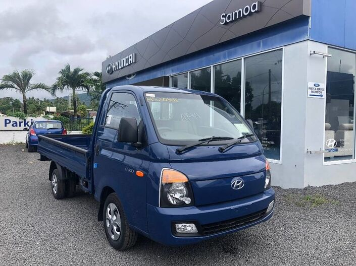 2020 Hyundai H100 FLAT DECK TRUCK 2.6L DIESEL 2WD 5-Speed Manual Transmission  Vaitele