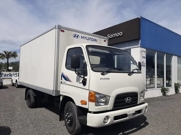 2020 Hyundai HD65 BOX TRUCK 3.9L DIESEL 2WD 5-SPEED MANUAL TRANSMISSION BOX TRUCK  Vaitele