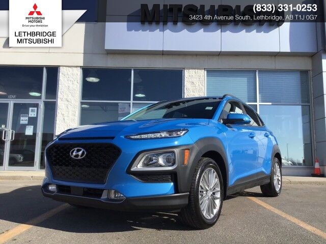 2020 Hyundai Kona LUXURY, ACCIDENT FREE, ONE OWNER ONLY, FULLY INSPECTED AND RECONIDITONED, LEATHER, LOW LOW LOW KMS! Luxury Lethbridge AB