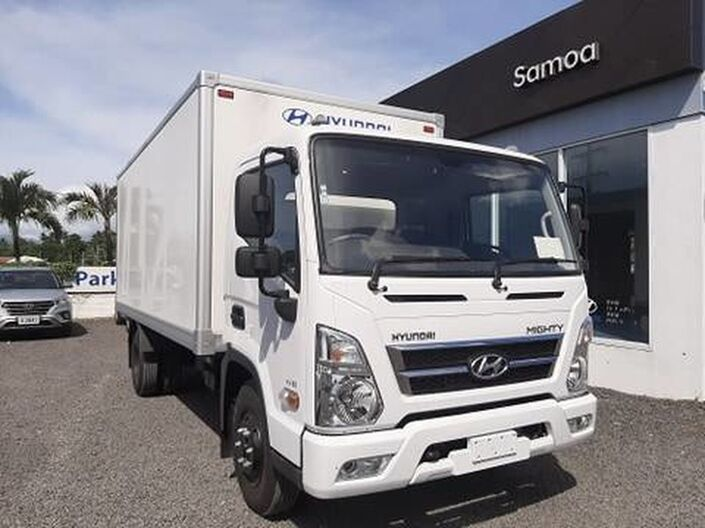 2020 Hyundai MIGHTY EX8 STD CAB 3.9L DIESEL 2WD 5-SPEED MANUAL TRANSMISSION BOX TRUCK  Vaitele