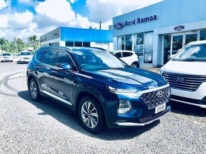 2020 Hyundai SANTA FE TM 7 SEATER 2.4L GASOLINE 4WD HTRAC 6-SPEED AUTOMATIC TRANSMISSION SUV Vaitele