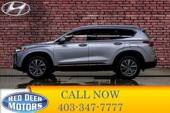 2020_Hyundai_Santa Fe_AWD Luxury Leather Roof BCam_ Red Deer AB