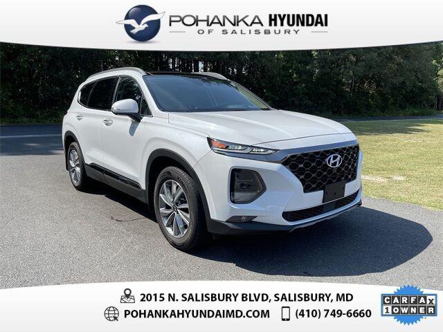 2020 Hyundai Santa Fe Limited 2.4 **ONE OWNER**CERTIFIED** Salisbury MD