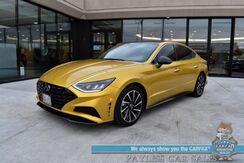 2020_Hyundai_Sonata_SEL Plus / Auto Start / Heated Seats / Bose Speakers / Navigation / Panoramic Sunroof / Adaptive Cruise / Lane Departure & Blind Spot Alert / Bluetooth / Back Up Camera / 36 MPG / Only 9k Miles / 1-Owner_ Anchorage AK