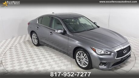 2020_INFINITI_Q50_3.0t LUXE BUCKET SAETS,SUNROOF,BCK-CAM,BLUETOOTH..._ Euless TX