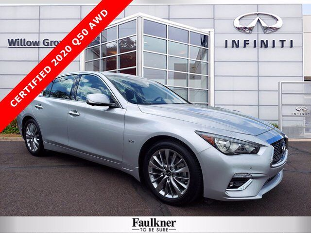 2020 INFINITI Q50 3.0t LUXE Willow Grove PA