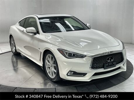 2020_INFINITI_Q60_3.0t LUXE CAM,SUNROOF,KEY-GO,18IN WLS_ Plano TX