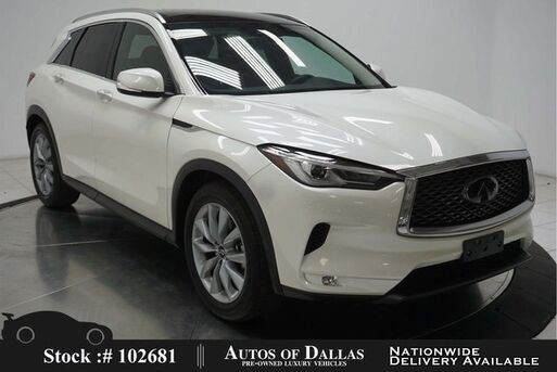 2020_INFINITI_QX50_LUXE NAV,CAM,SUNROOF,HTD STS,BLIND SPOT,19IN WLS_ Plano TX