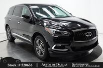 INFINITI QX60 PURE CAM,SUNROOF,HTD STS,BLIND SPOT,3RD ROW 2020
