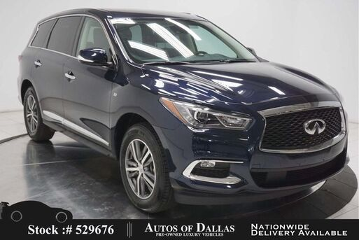 2020_INFINITI_QX60_PURE CAM,SUNROOF,HTD STS,KEY-GO,18IN WLS,3RD ROW_ Plano TX