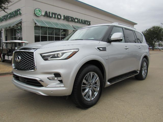 2020 Infiniti QX80 LUXE 4WD 360 CAM, SUNROOF, CAR PLAY Plano TX