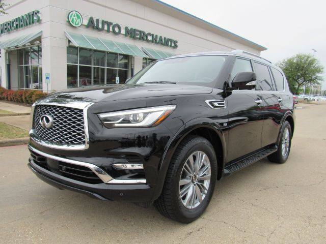 2020 Infiniti QX80 Luxe APPLE CAR PLAY, SUNROOF, 3RD ROW SEATS, REAR CLIMATE Plano TX
