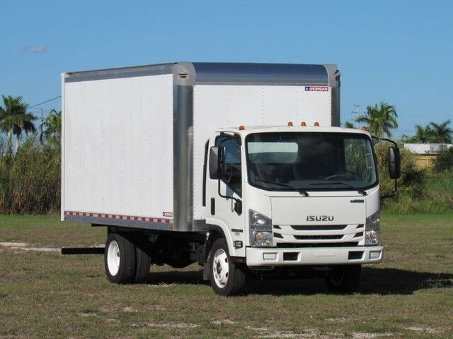 2020 Isuzu NPR GAS 16' Dry Box Truck Homestead FL