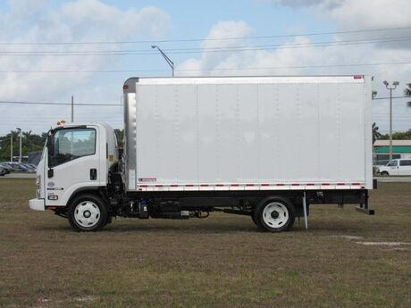 2020 Isuzu NPR-HD 16' refrigerated truck (Gas) Homestead FL