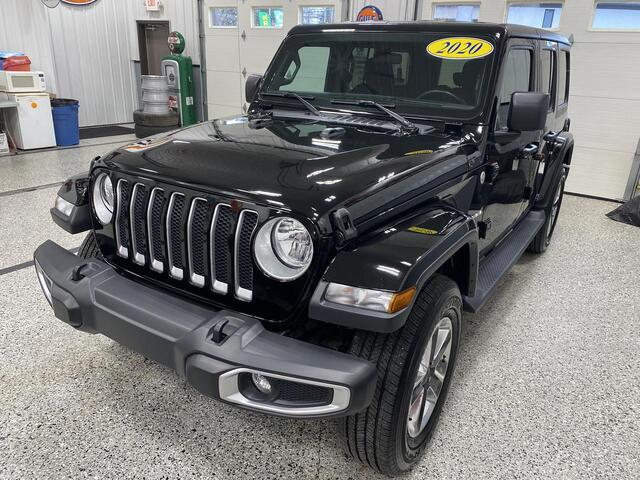 2020 JEEP WRANGLER UNLIMITED 4X4 SAHARA Bridgeport WV
