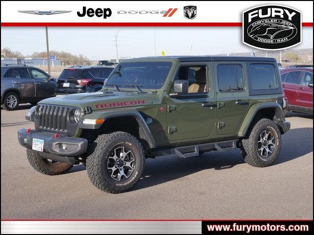2020 JEEP WRANGLER UNLIMITED Rubicon 4x4 St. Paul MN