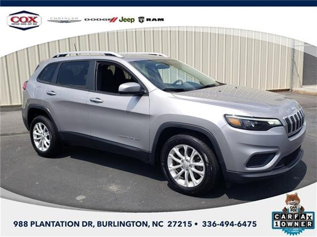 2020 Jeep Cherokee Latitude Front-wheel Drive Burlington NC