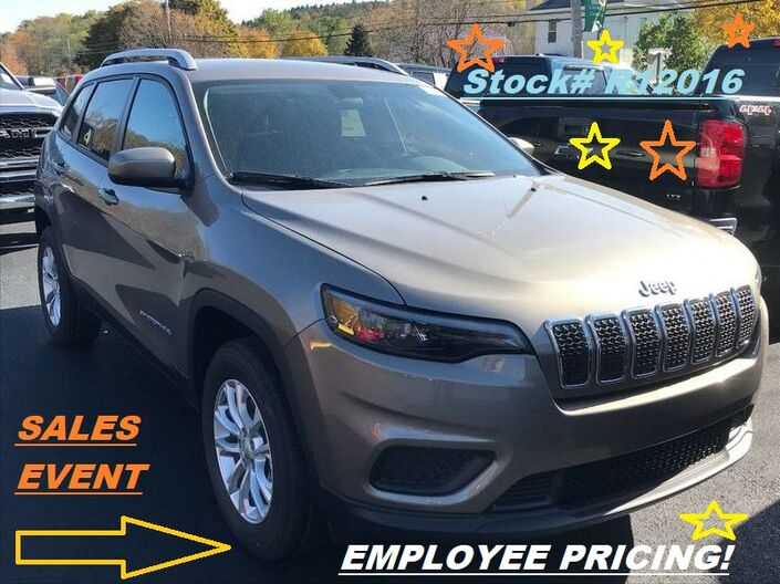 2020 Jeep Cherokee Latitude Rock City NY