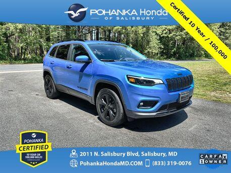 2020_Jeep_Cherokee_Latitude Plus 4X4 ** Pohanka Certified 10 year / 100,000 **_ Salisbury MD