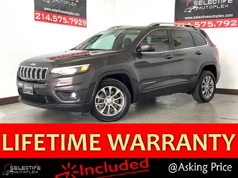 2020 Jeep Cherokee Latitude Plus, REAR VIEW CAM, LEATHER SEATS, BLIND SPOT MON Carrollton TX