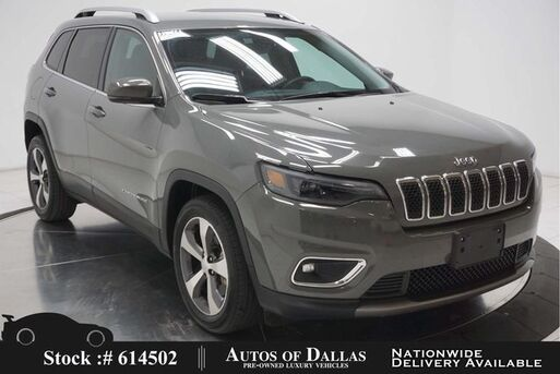 2020_Jeep_Cherokee_Limited CAM,HTD STS,PARK ASST,BLIND SPOT_ Plano TX