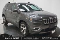 Jeep Cherokee Limited CAM,HTD STS,PARK ASST,KEY-GO,18IN WLS 2020