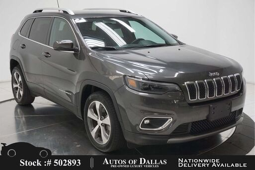 2020_Jeep_Cherokee_Limited CAM,HTD STS,PARK ASST,KEY-GO,18IN WLS_ Plano TX