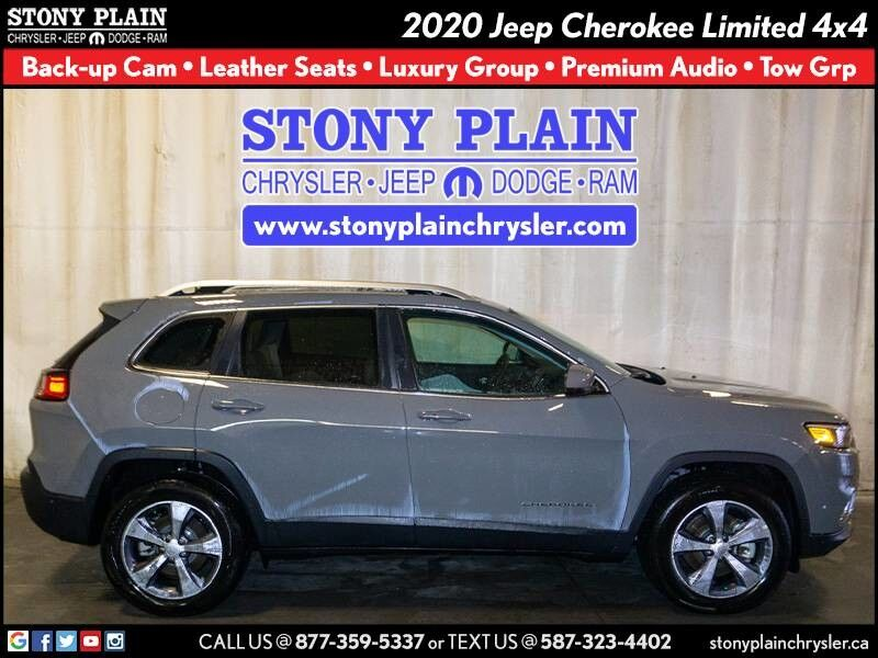 2020 Jeep Cherokee Limited Stony Plain AB
