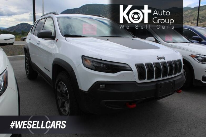 2020 Jeep Cherokee Trailhawk 4x4, One Owner, Clean Carfax Kelowna BC