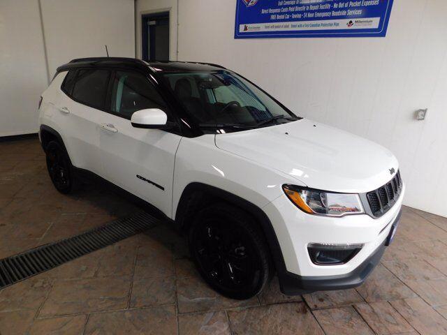 2020 Jeep Compass Altitude  LEATHER NAVI 4WD Listowel ON