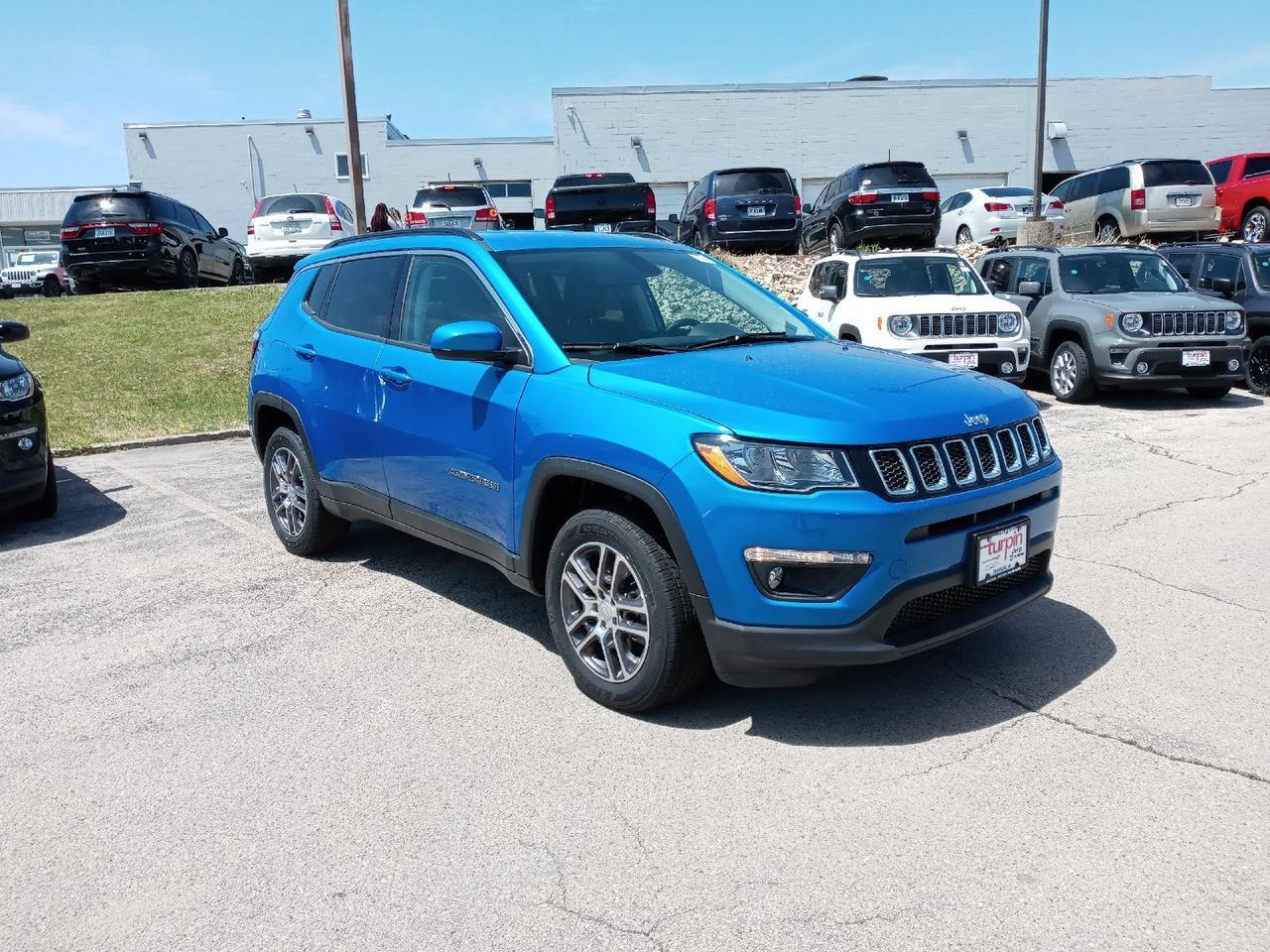 2020 Jeep Compass LATITUDE 4X4 Dubuque IA