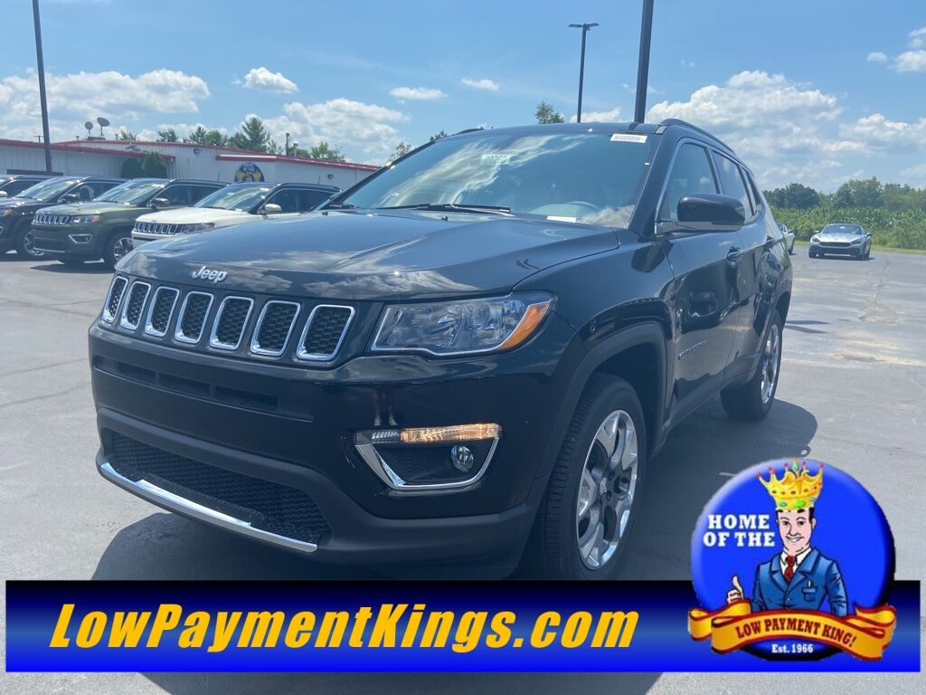 2020 Jeep Compass LIMITED 4X4 Shelby OH