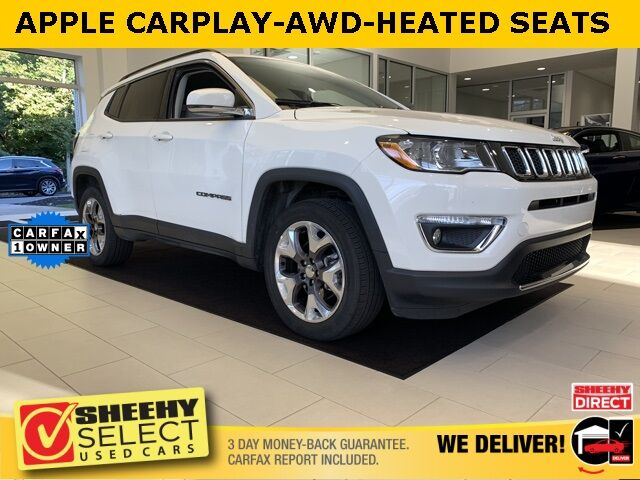 2020 Jeep Compass Limited APPLE CAR PLAY GOOGLE ANDROID AUTO Annapolis MD