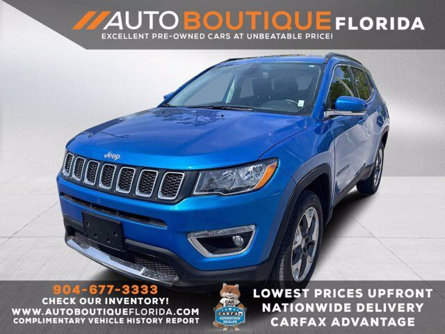 2020 Jeep Compass Limited Jacksonville  FL