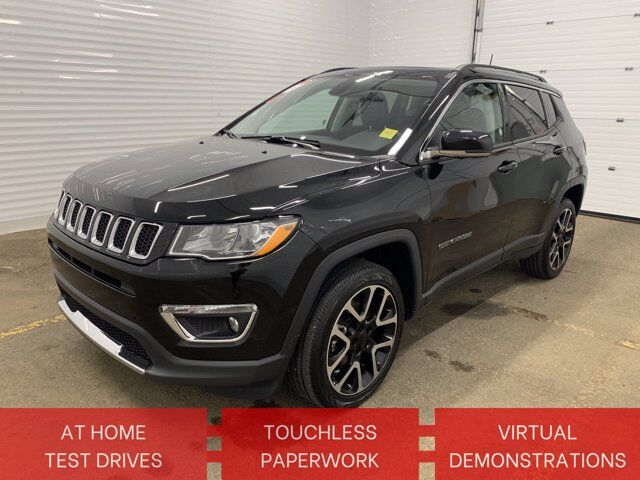 2020 Jeep Compass Limited Sherwood Park AB