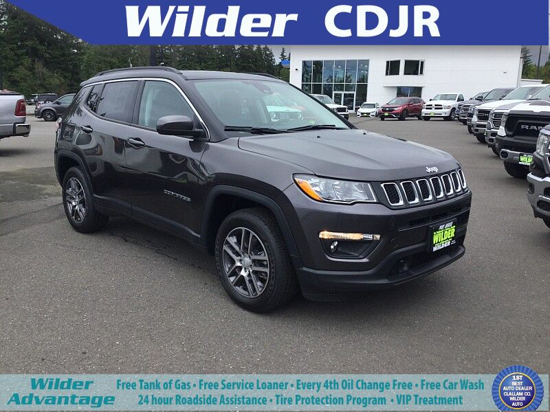 2020 Jeep Compass SUN AND SAFETY 4X4 Port Angeles WA