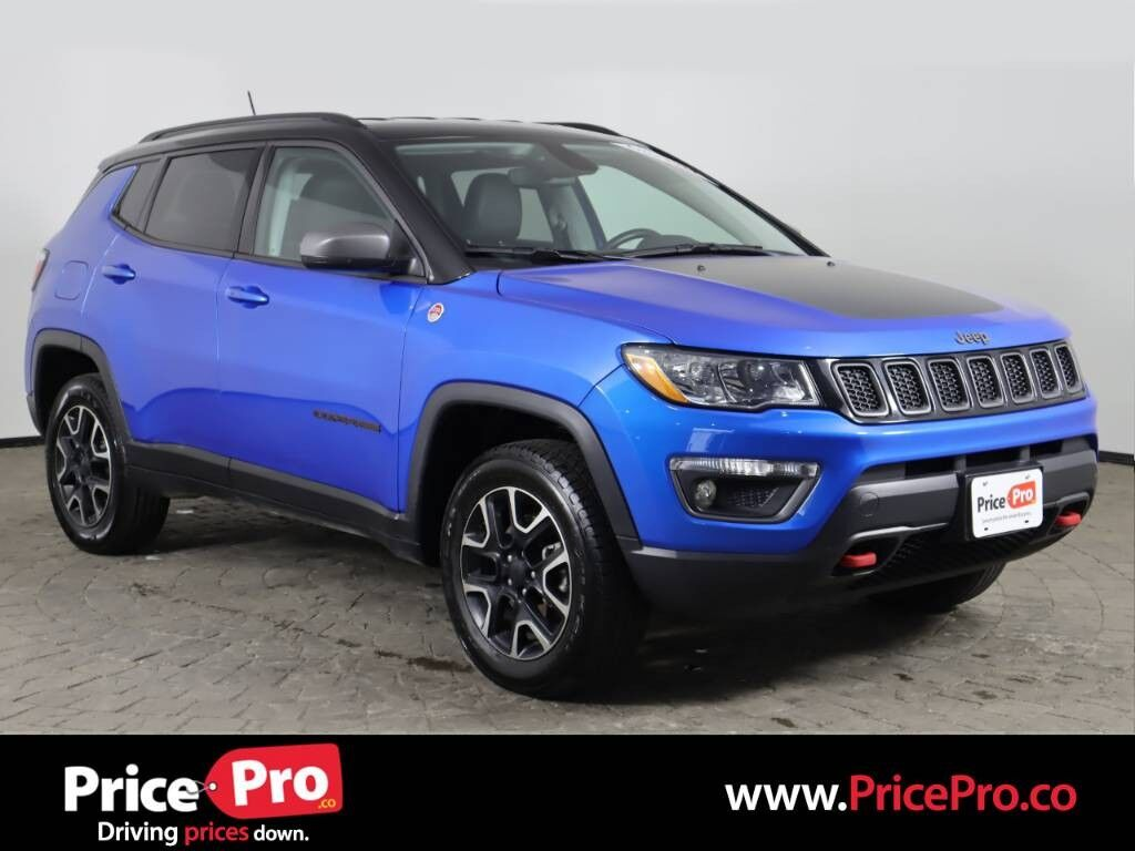2020 Jeep Compass Trailhawk 4x4 w/Heated Leather Maumee OH