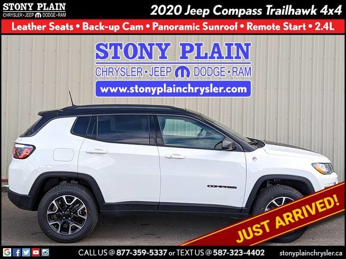 2020 Jeep Compass Trailhawk Stony Plain AB