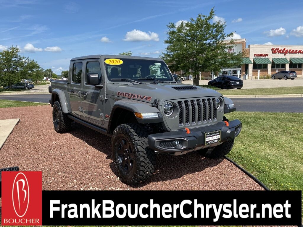 New 2020 Jeep Gladiator Mojave 4x4 In Janesville Wi